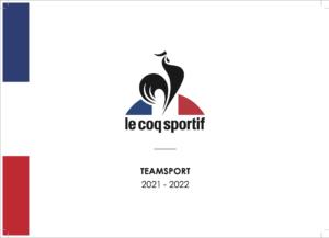 CAtalogue COQ Sportif