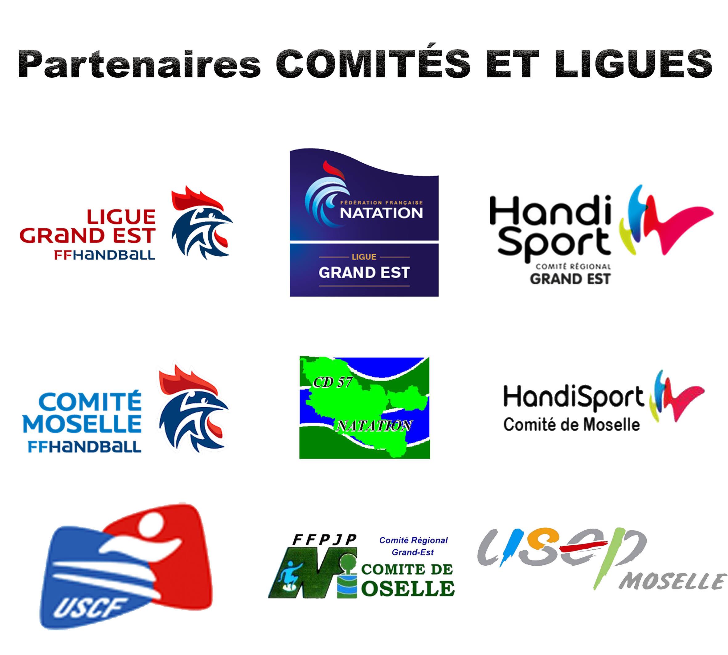 Partenaires comités et ligues